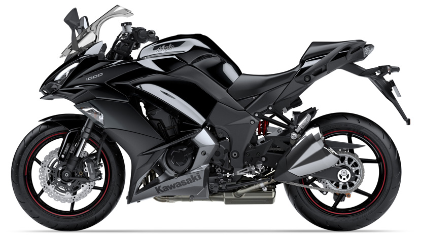 Ninja 1000 New : Metallic Spark Black / Metallic Graphite Gray