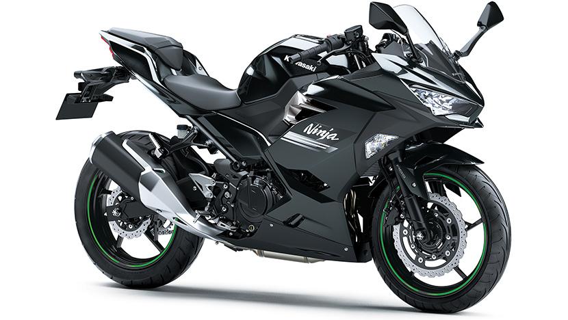 Ninja 250 : Metallic Carbon Gray/Metallic Flat Spark Black (2022)