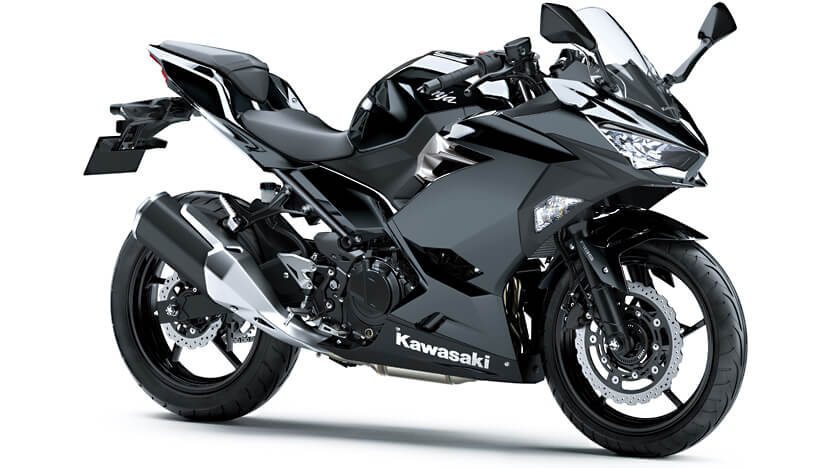 Ninja 250 : Metallic Spark Black