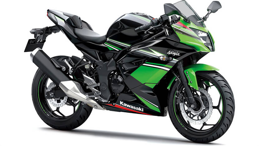 Ninja 250SL ABS : BLACK/LIME GREEN (KRT Edition)