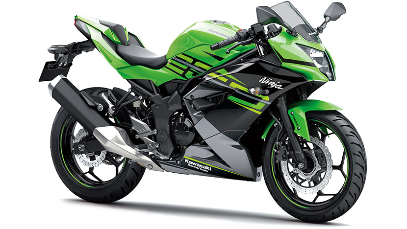 Ninja 250SL ABS : Lime Green / Ebony / Metallic Graphite Gray