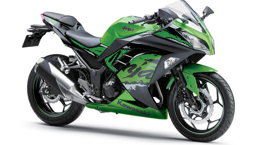 Ninja 300 ABS : LIME GREEN
