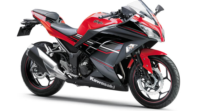 Ninja 300 ABS : RED