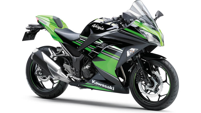 Ninja 300 KRT : LIME GREEN (KRT EDITION)