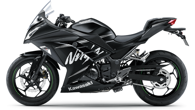 Ninja 300 KRT : Winter Test Edition
