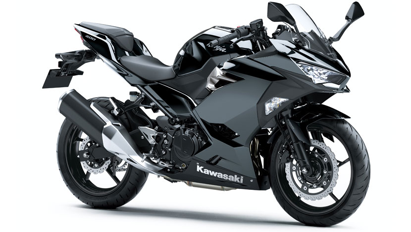 Ninja 400 : Metallic Spark Black