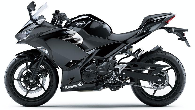 Ninja 400 : Metallic Spark Black (2018)