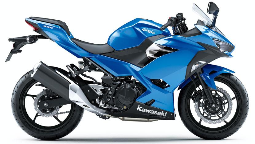Ninja 400 : Candy Plasma Blue