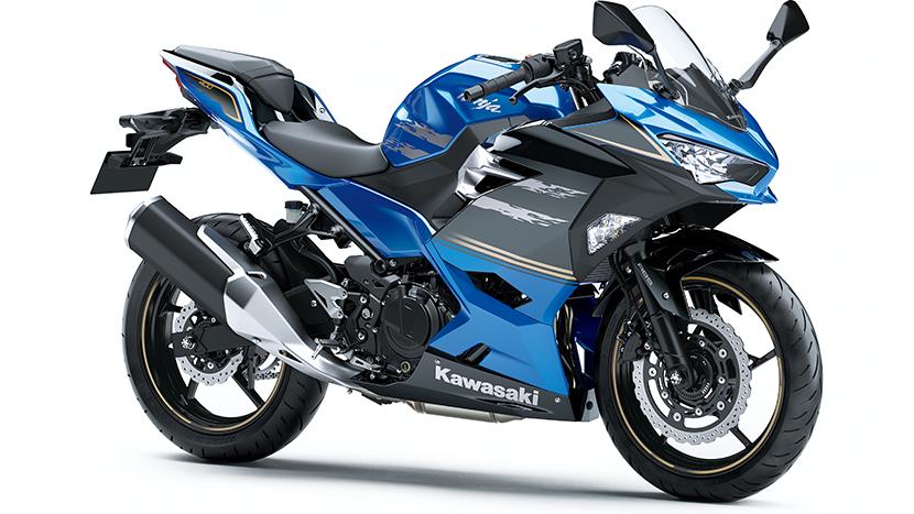 Ninja 400 : Blue
