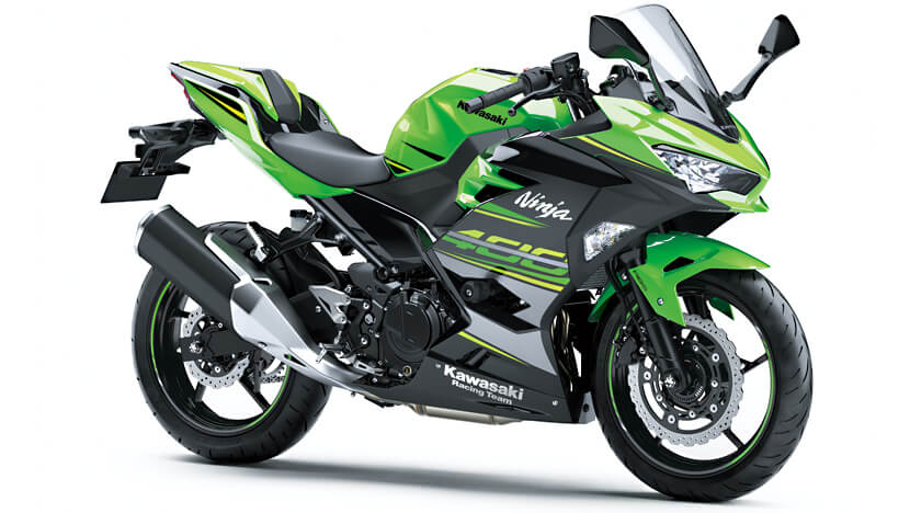 Ninja 400 : Lime Green / Ebony (KRT Edition)