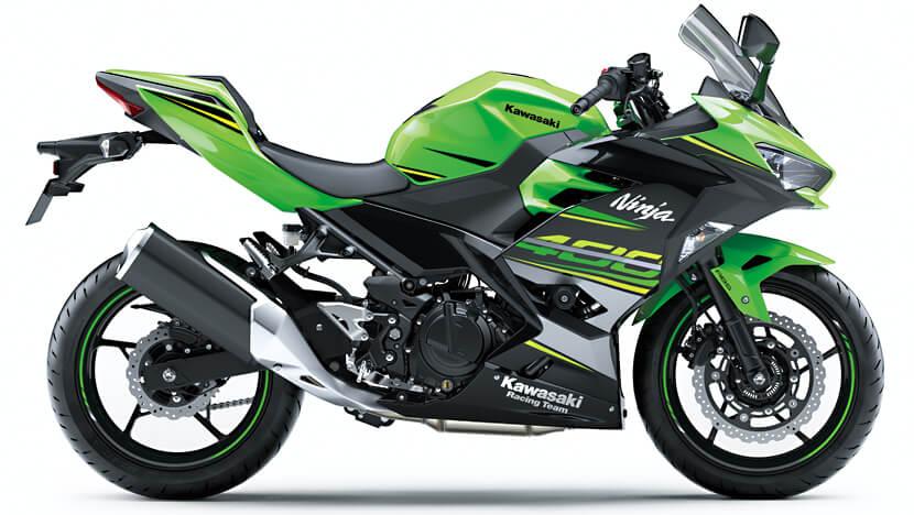 Ninja 400 : Lime Green / Ebony (SE) (2018-2019)