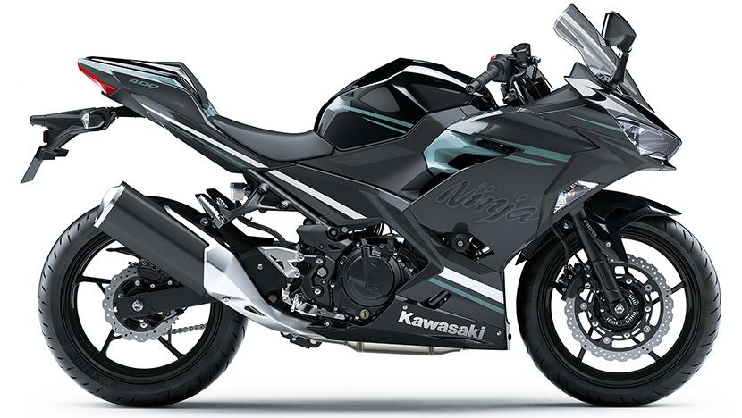 Ninja 400 HG : Metallic Spark Black / Phantom blue (HG)