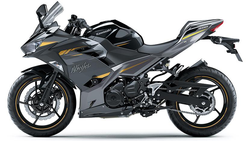 Ninja 400 HG : Metallic Spark Gray (HG) (2022)