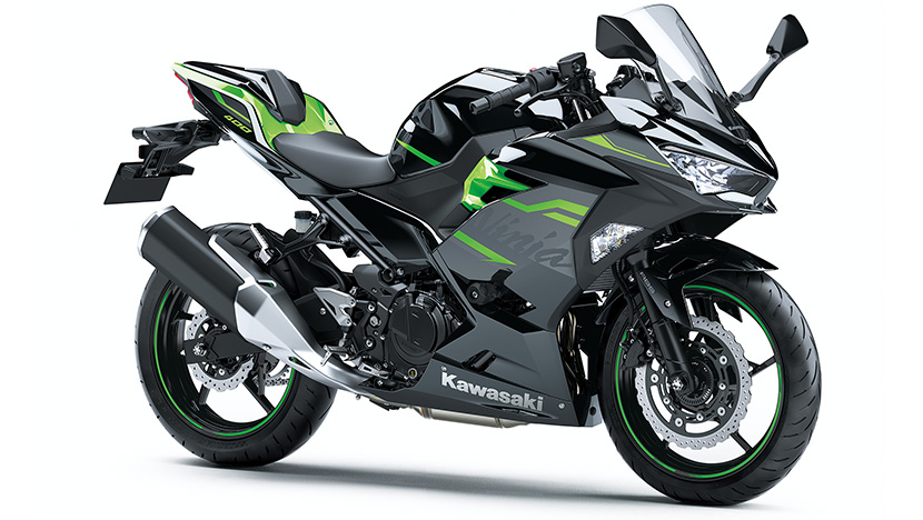 Ninja 400 SE : Metallic Spark Black / Lime Green (SE)