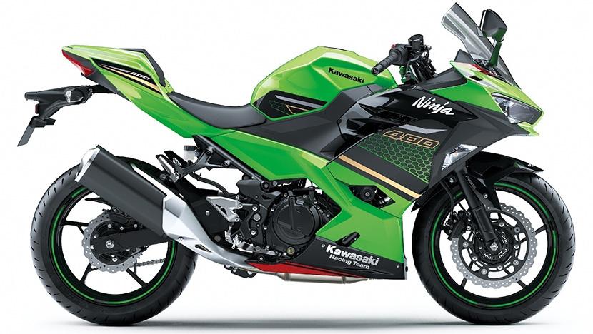 Ninja 400 SE : Lime green / Ebony (KRT Edition) (SE)