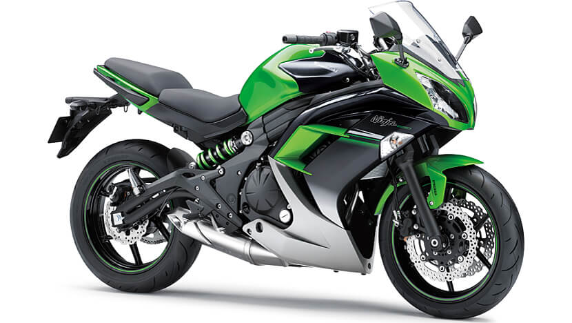 Ninja 650 : LIME GREEN METALLIC SPARK BLACK