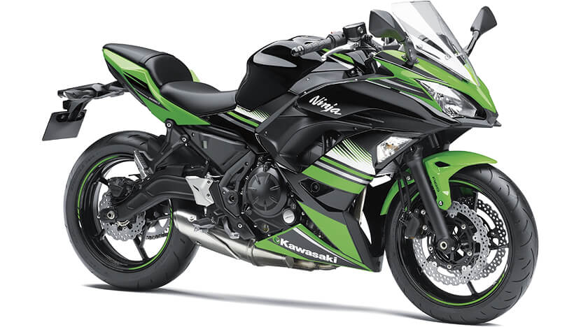 Ninja 650 New (KRT Edition) : LIME GREEN/EBONY(KRT EDITION)