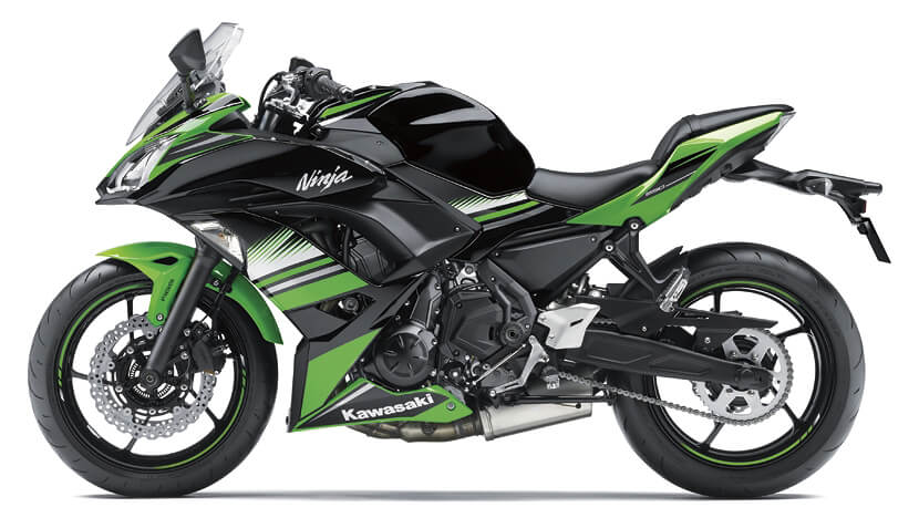 Ninja 650 New (KRT Edition) : LIME GREEN/EBONY (KRT EDITION) (2017)