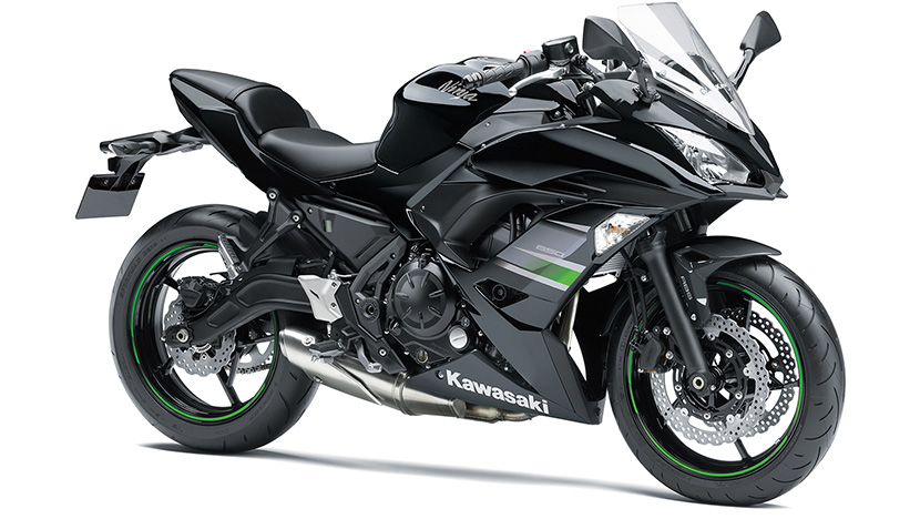 Ninja 650 : Metallic Flat Spark Black / Metallic Spark Black