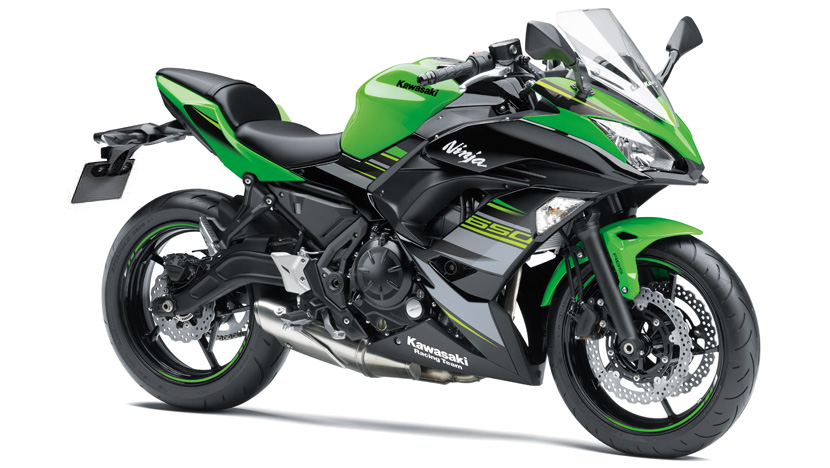 Ninja 650 New  :  Lime Green / Ebony (KRT Edition)