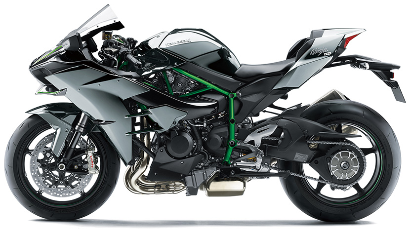 Ninja H2 : Mirror Coated Spark Black