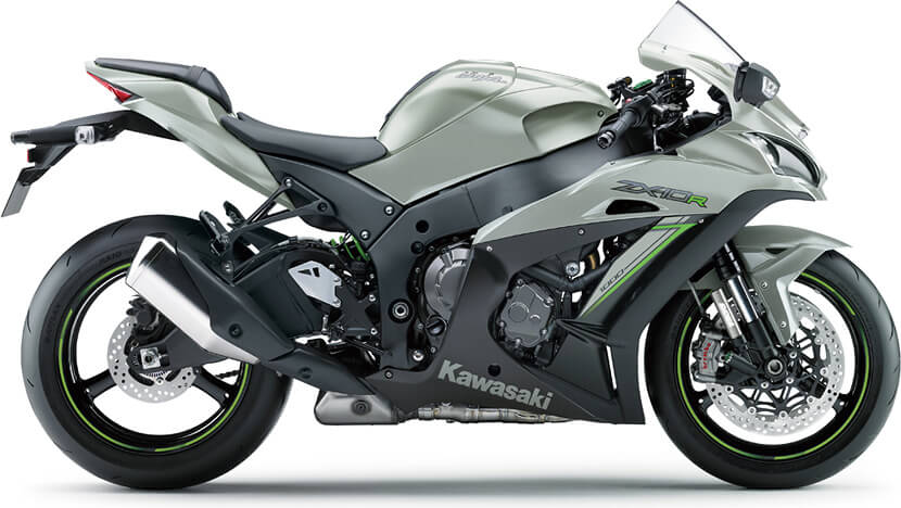 Ninja ZX-10R : METALLIC MATTE GRAPHITE GRAY / METALLIC FLAT SPARK BLACK