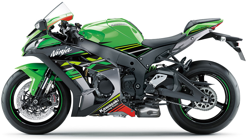 Ninja ZX-10R : Lime Green / Ebony / Metallic Graphite Gray