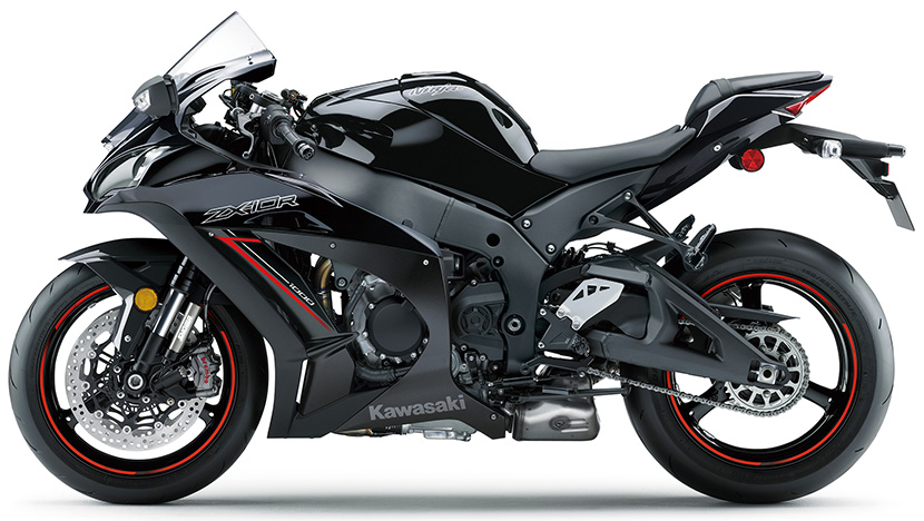 Ninja ZX-10R : Metallic Spark Black/Metallic Flat Spark Black (2020)