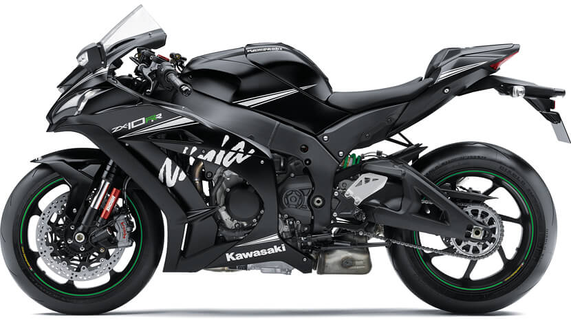Ninja ZX-10RR : FLAT EBONY (KRT WINTER TEST EDITION)