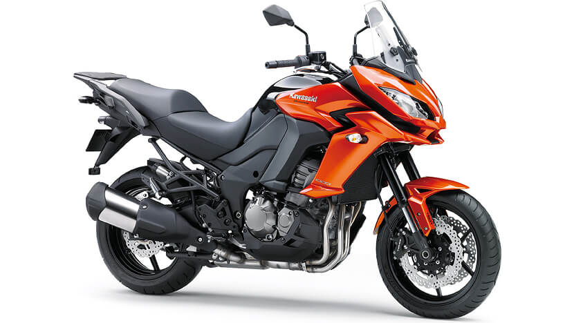 Versys 1000 : CANDY BURNT ORANGE