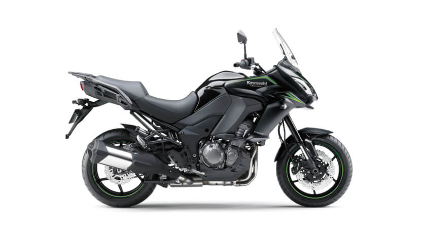 Versys 1000 : Metallic Flat Spark Black / Metallic Spark Black