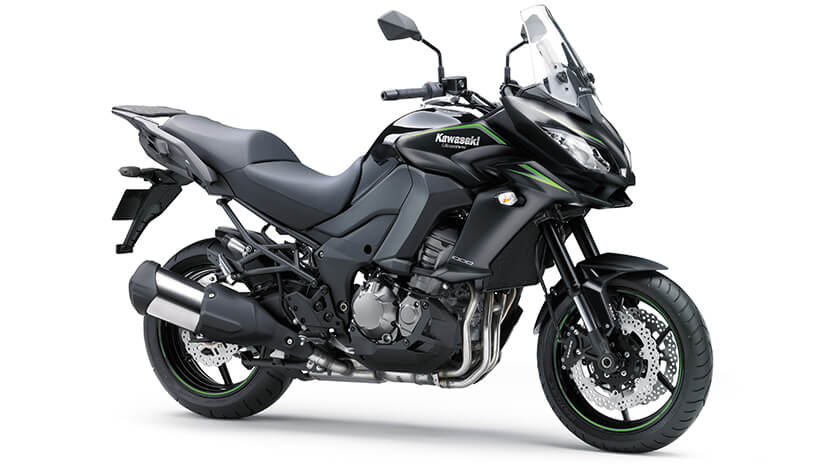 Versys 1000 : Metallic Flat Spark Black / Metallic Spark Black