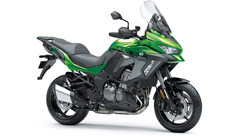Versys 1000 SE : Emerald Blazed Green / Pearl Storm Gray