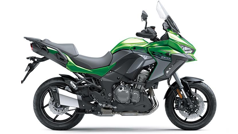 Versys 1000 SE : Emerald Blazed Green / Pearl Storm Gray