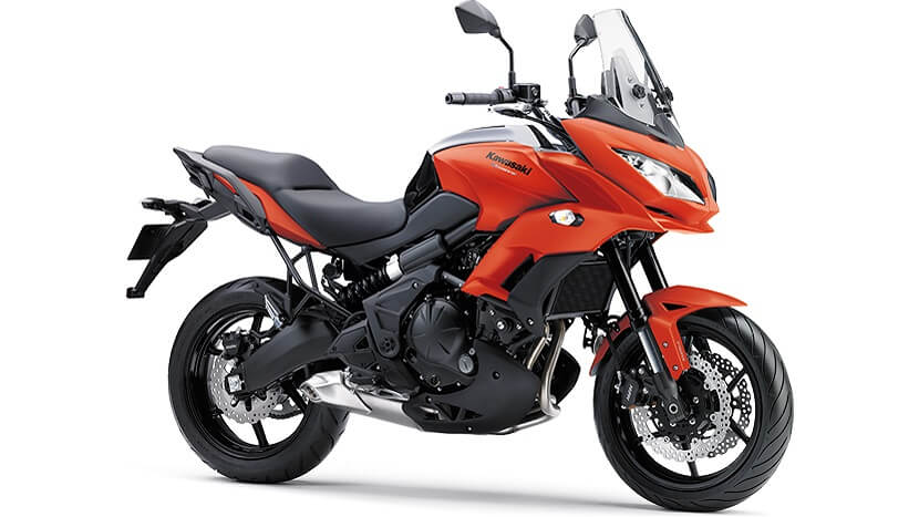 Versys 650 : CANDY BURNT ORANGE