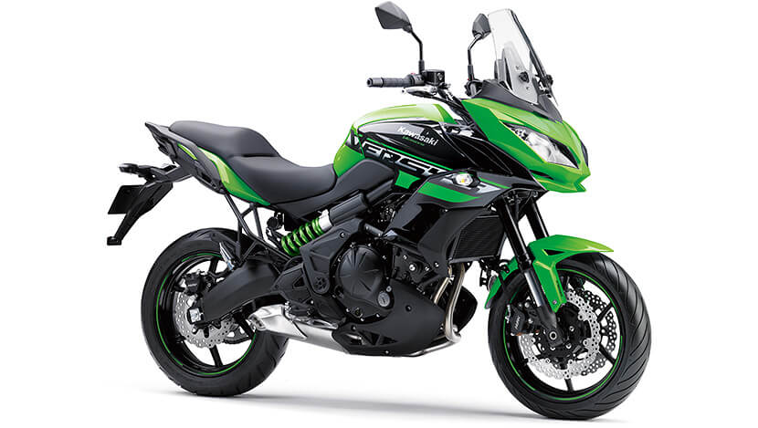 Versys 650 : CANDY LIME GREEN / METALLIC SPARK BLACK