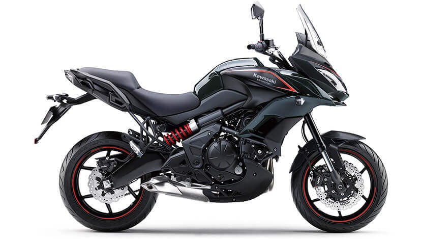 Versys 650 : METALLIC FLAT SPARK BLACK / METALLIC CARBON GRAY