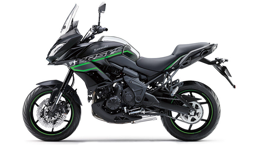 Versys 650 : Metallic Moondust Grey / Metallic Flat Spark Black
