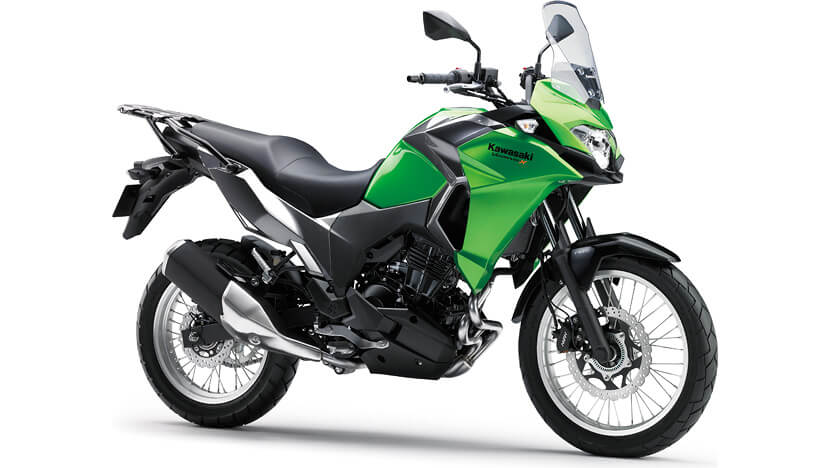 Versys-X 300 : CANDY LIME GREEN / METALLIC GRAPHITE GRAY (CITY)