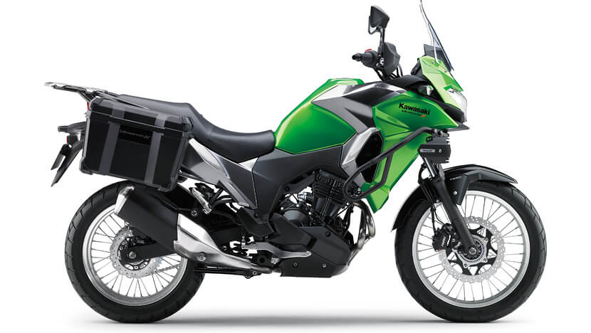 Versys-X 300 : CANDY LIME GREEN / METALLIC GRAPHITE GRAY (TOURER)