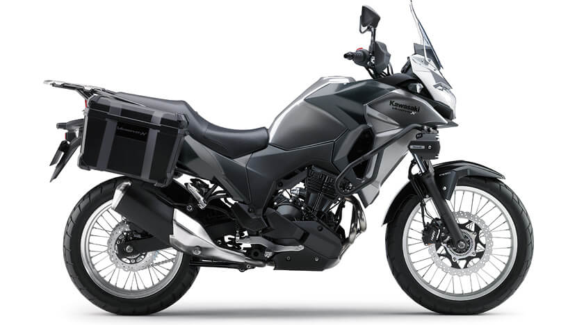Versys-X 300 : METALLIC GRAPHITE GRAY / FLAT EBONY (TOURER)