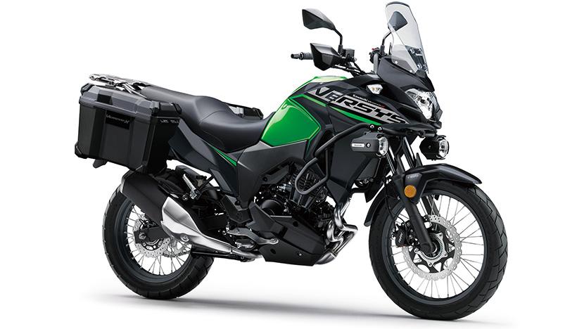 Versys-X 300 : Candy Lime Green / Metallic Flat Spark Black (Tourer)