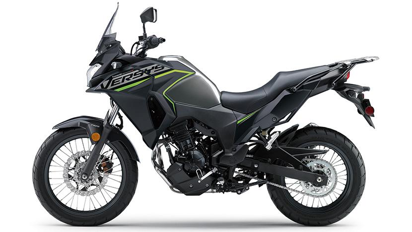 Versys-X 300 : Metallic Moondust Grey / Metallic Flat Spark Black (City)