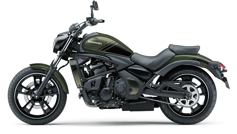 Vulcan S ABS : Metallic Matte Covert Green