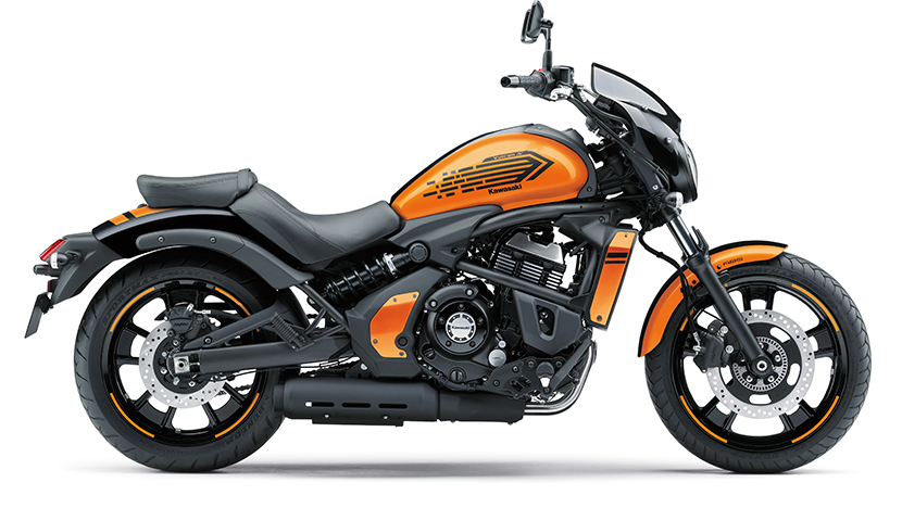 Vulcan S ABS : Candy Steel Furnace Orange / Metallic Spark Black