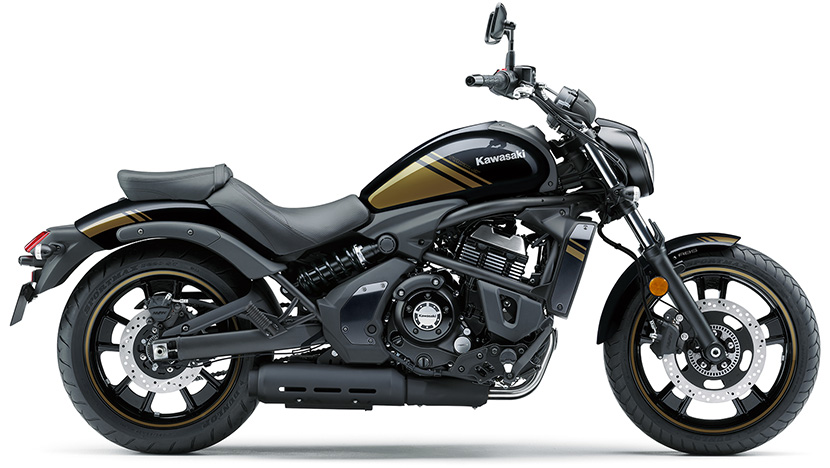 Vulcan S ABS : Metallic Spark Black