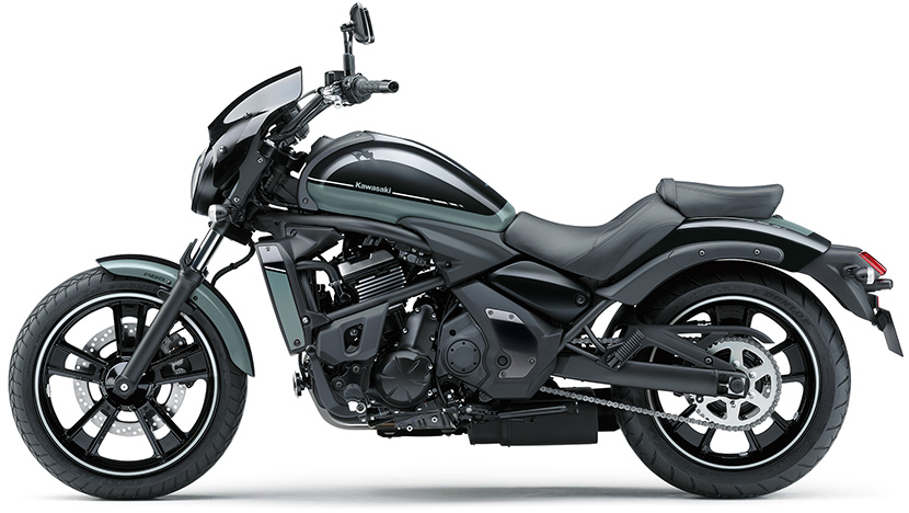 Vulcan S ABS : Phantom blue / Ebony