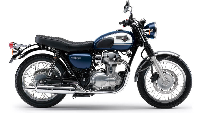 W800 : METALLLIC OCEAN BLUE