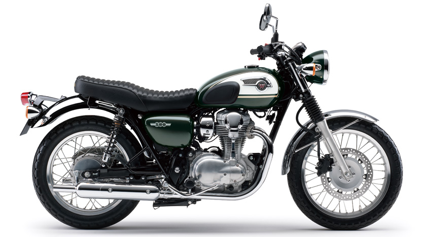 W800 : Metallic Dark Green