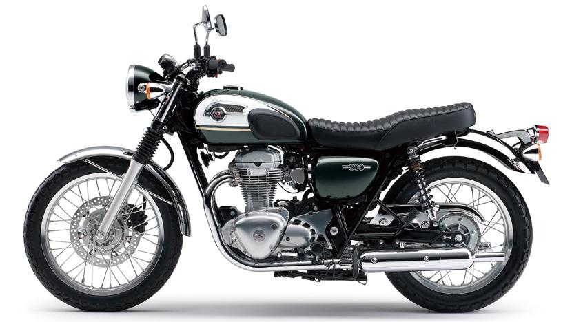 W800 : Metallic Dark Green